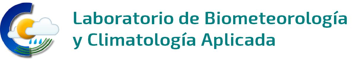 Laboratorio de Biometeorología y Climatología Aplicada