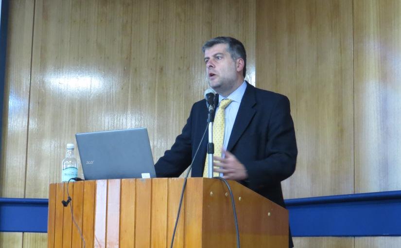 Profesor Francisco Meza es invitado a dar clase magistral en inauguración de año académico de Universidad deConcepción