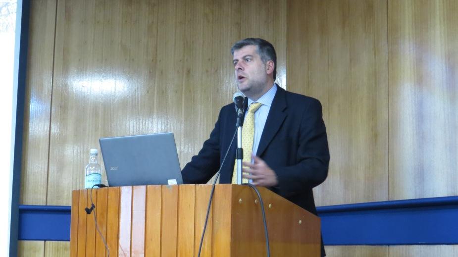 Profesor Francisco Meza es invitado a dar clase magistral en inauguración de año académico de Universidad de Concepción